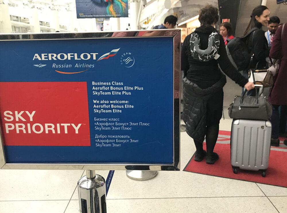 Check-in on line con Aeroflot ecco come