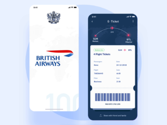 Check-in on line con British Airways