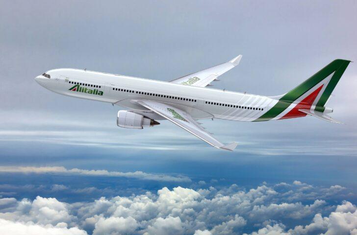 Airbus Alitalia in volo