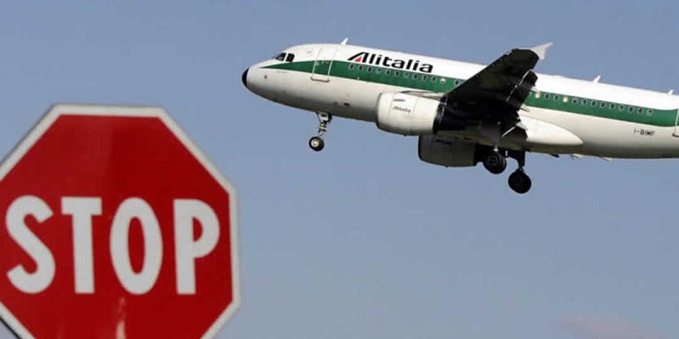 Alitalia voli cancellati per sciopero