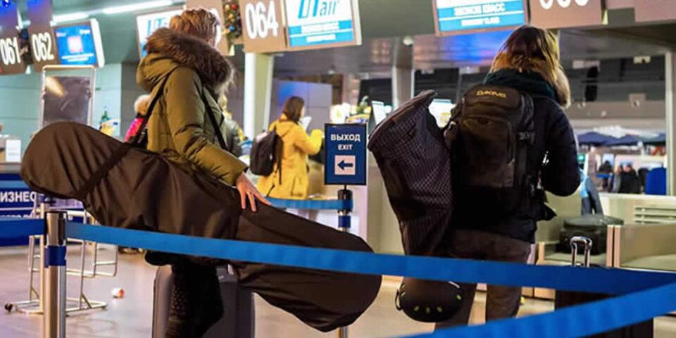 Regole per imbarcare l'attrezzatura sportiva sull'aereo