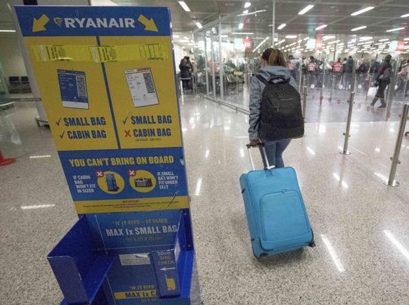 rimborso bagaglio Ryanair