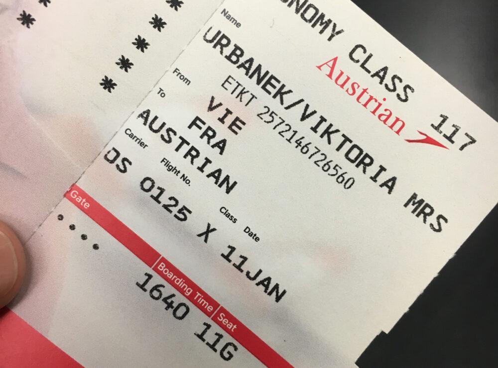 Correzione di errore su biglietto Austrian Airlines, come fare