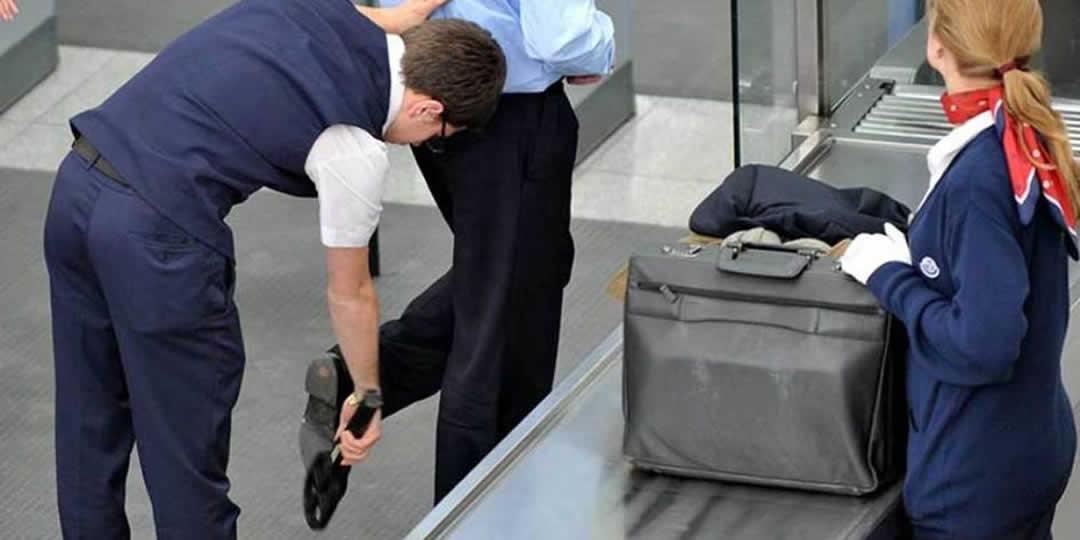 Check-in e controlli di sicurezza in aeroporto