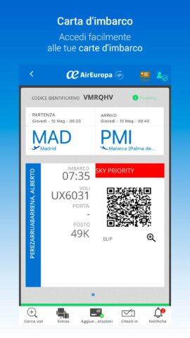 Check-in on line con Air Europa ecco come