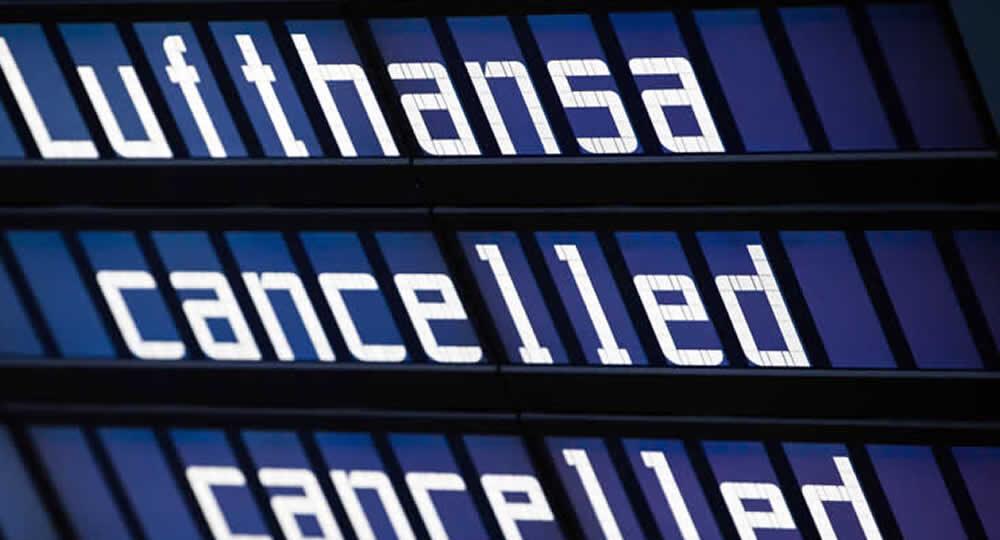 Cosa fare quando Lufthansa cancella un volo per sciopero