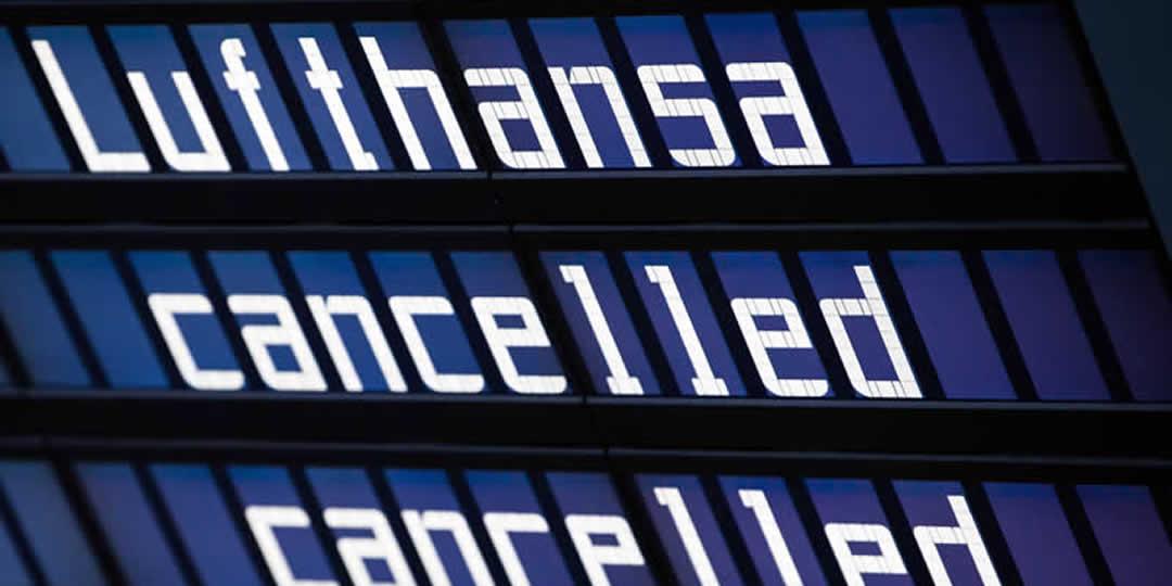 Lufthansa voli cancellati per sciopero