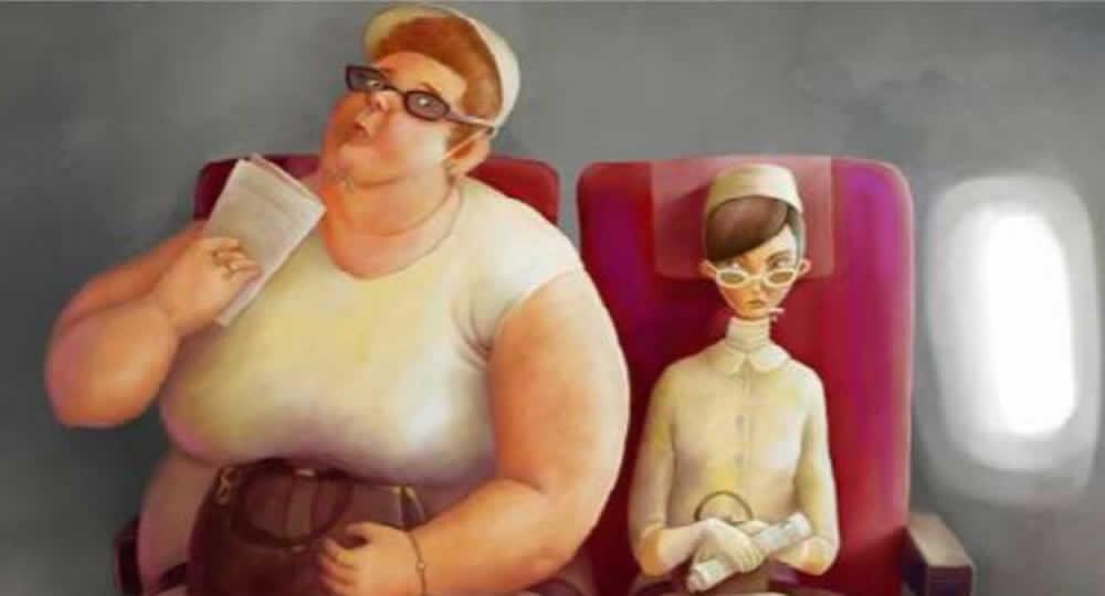 Passeggera sovrappeso costretta a pagare doppio biglietto
