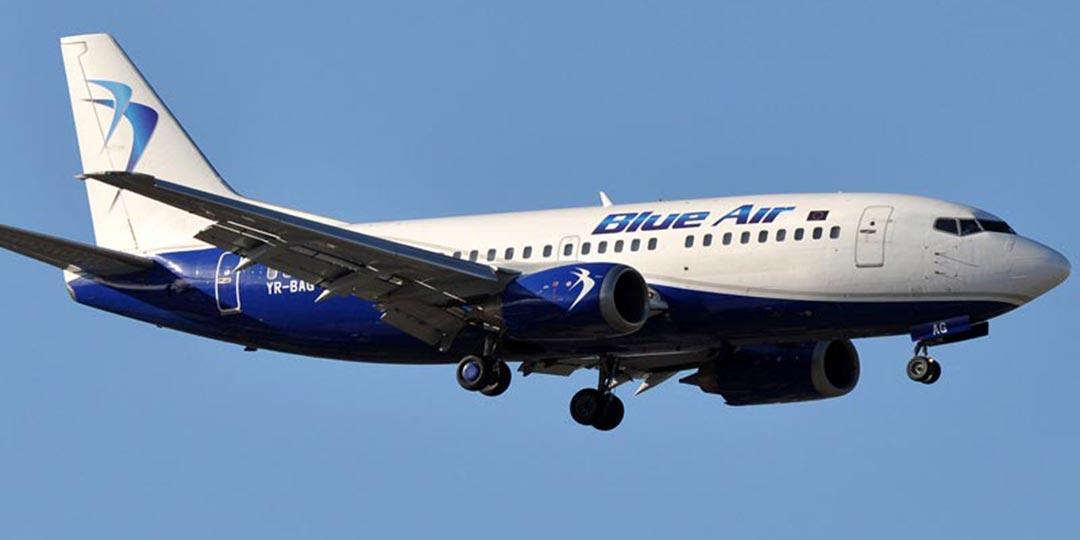 Rimborso volo Blue Air
