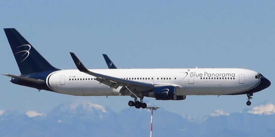 Rimborso volo cancellato Blue Panorama