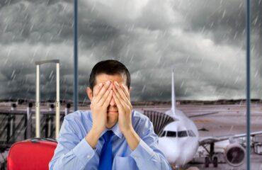 Come ottenere il rimborso per voli cancellati con               maltempo, neve e vento