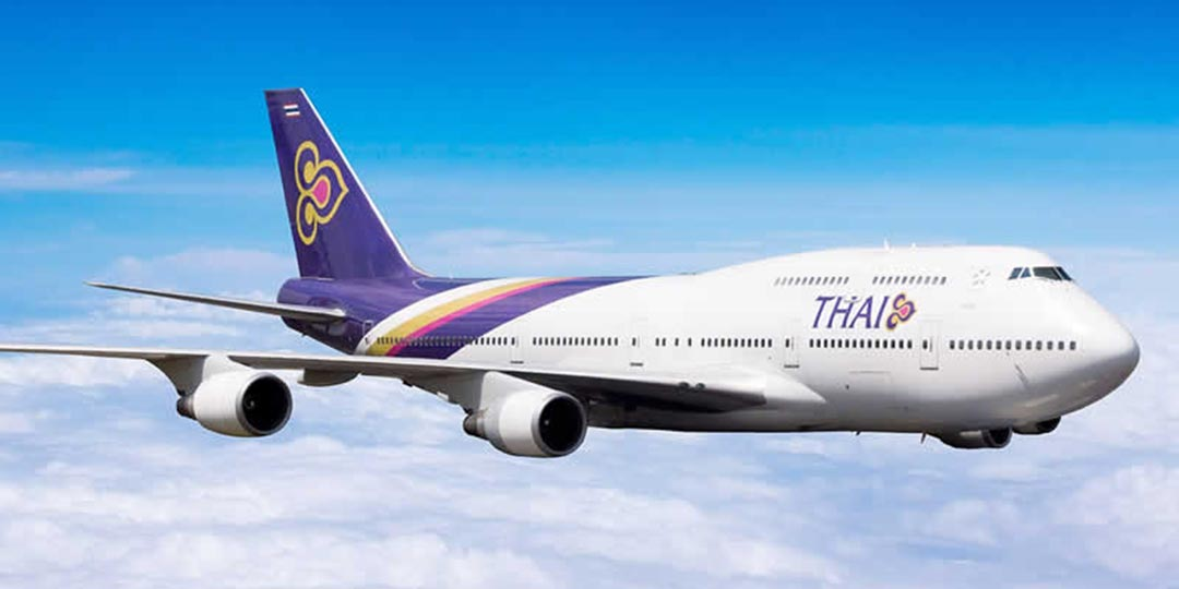 Rimborso volo Thai Airways