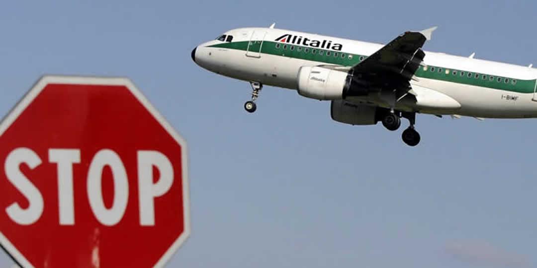 Rischio fallimento Alitalia