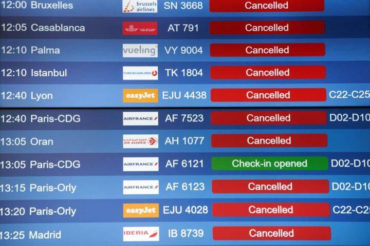 rimborso per volo Europeo cancellato