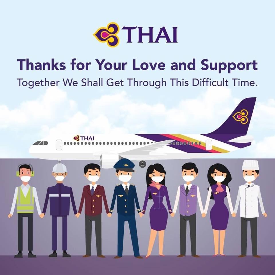 volo cancellato thai airways odissea turisti bloccati coronavirus